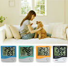Indoor LCD Temperature Humidity Meter Digital Thermometer Hygrometer Alarm-Clock