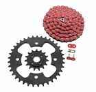 2003 - 2007 Polaris Predator 500 Red Chain & Black Sprocket 15/37 94L