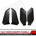KIWI MASTER Half Lower Door Insert Panels for 4D 17-19 Can-Am X3 Maverick Turbo