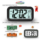 Digital Alarm Clock Large Display Travel Alarm Clock with Calendar Temperature P