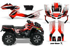ATV Graphics Kit Decal Sticker Wrap For Can-Am Outlander XMR 500/800 CARBONX RED