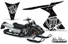 Snowmobile Graphics Kit Decal Sticker Wrap For Ski-Doo RT 2005-2009 RELOAD GY BK