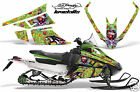 Snowmobile Graphics Kit Decal Wrap For Wrap Arctic Cat F Series Z1 EDHLK GREEN