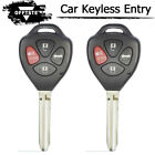 For 2011+ OEM Toyota Camry Remote Head Key 4 Buttons Fcc HYQ12BBY - G Chip New