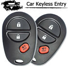 Fits 2007-2010 Toyota Camry HYQ12BBY OEM 4 Button Keyless Entry Remote Key Fob