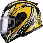 GMAX FF49 Sektor Snow Helmet G2491233 XS Yellow/White/Black