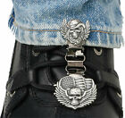 Ryder Clips Laced Boots Two Clip Version SWL-FC Skull Wings