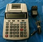 CANON P23-DHV Clock Calendar 2 Color Printing Calculator With Power Adapter
