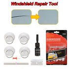 8pcs Set Car Windscreen Windshield Repair Tool DIY Kit Wind Glass For Chip Crack