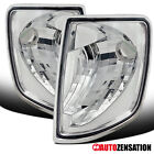 For 85-95 Mercedes Benz W124 E-Class Clear Turn Signal Corner Lights Lamps Pair