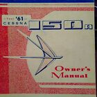 1961 Cessna 172B and  Skyhawk Owner's Manual