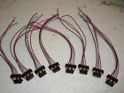 Set 8 LS1 LS6 Ignition Coil Connector Pigtail Wiring GM D580 Corvette Trans Am