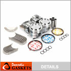 82-84 Toyota Celica Pickup 4Runner 2.4L SOHC Piston&Bearings&Ring Set 22R 22REC