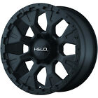 18x9 Black Helo HE878 8x170 -12 Wheels Nitto Dune Grappler LT285/65R18 Tires