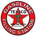 "TEXACO VINTAGE vinyl cut sticker decal 10"" (full color)"