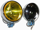 Porsche 356,911,912 Fog/Driving Lights, Amber Or Clear Lens W/H3 Bulb,110mm,12v