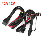 HID Xenon Conversion Kit Resistor Relay Wire Harness Anti-Flicker H11 40A 12V