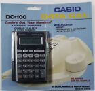 NEW CASIO DC-100 DATA-CAL (OLD STOCK) ++FREE SHIP!