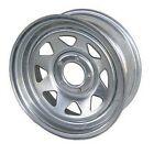 "American Tire 693292 14"" Dia Galvanized Steel 5-Bolt Wheel"