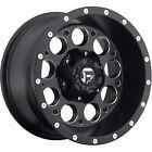 18x9 Black Fuel Revolver 5x4.5 & 5x5 -12 Rims Nitto NT555 285/40ZR18 Tires