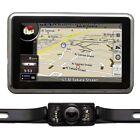 4.3 Car GPS Navigation+Reverse Camera+8GB US CA EU UK Global Map Bluetooth AV-IN
