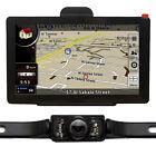 "7"" 128M 8G US CA EU Global Map Bluetooth AV-IN Car GPS Navigation+Reverse Camera"