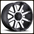 "18"" ULTRA 195U CRUSHER RIMS & TOYO 255-70-18 OPEN COUNTRY AT 2 TIRES WHEELS"