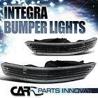 ACURA 98-01 INTEGRA FRONT BUMPER LIGHTS TURN SIGNAL PARKING LAMP BLACK