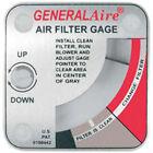 General Aire G99 Media Air Cleaner Filter Gauge
