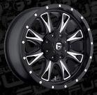 Fuel Throttle D513 20x9 8x170 ET1 Black Wheels Rims (Set of 4)