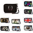 """Soft Portable Hard Disk Drive Case Shockproof Bag Cover 2.5""""HDD Bag Pocket Strap"""
