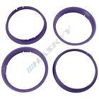 4 Centering Rings 74,1 - 72,6 for BMW Models 1 3 5 E46 E90 E60 Alloy wheels