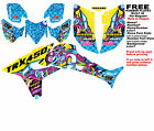 TRX450R Graphics 08-Newer DFR Logo Bomber Electric Colors Sides Fenders Honda