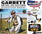 GARRETT ACE 400 METAL DETECTOR,  WATERPROOF COIL, NEW WITH FREE SHIPPING!