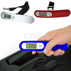 50kg/10g Portable LCD Digital High PrecisionHanging Luggage Scale Travel Kitchen