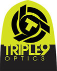 Triple 9 Optics Logo Beanie Black/Hi Viz 37-2702