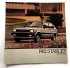 1982 Toyota Starlet 10-page Original Car Sales Brochure Catalog