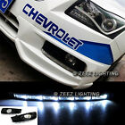 Exact Fit LED Daytime Running Light DRL Lamp Kit Chevy Cruze With Fog 09 - 14 #K