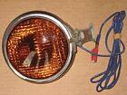 VINTAGE 1940's PIONEER CO. #140 RAT HOT ROD / AMBER FOG LIGHT