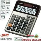 AUSSIE SELLER CASIO DESK CALCULATOR 12 DIGIT MX120B MX-120B EXTRA LARGE DISPLAY