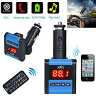 Wireless AWS MP3 Player FM Transmitter Modulator Car Kit USB SD MMC LCD Remote