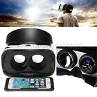 3D VR Glasses Virtual Reality Headset + Bluetooth Controller For iPhone IOS