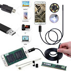 7MM 10M Android PC HD Endoscope Waterproof Snake Borescope USB Inspection Camera