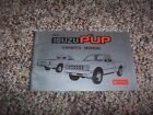 1983 Isuzu PUP P'up Pickup Truck Factory Original Owner's Owner User Manual Book