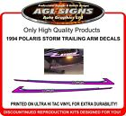 1994 POLARIS STORM TRAILING ARM DECAL KIT, REPRODUCTIONS
