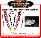 2000 POLARIS Indy 550 Super Sport Reproduction Decal Set