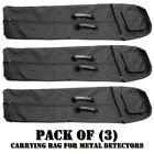 Pack of (3) Pyle PHMDCB10 Universal Nylon Carrying Bag for Metal Detectors