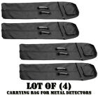 Lot of (4) Pyle PHMDCB10 Universal Nylon Carrying Bag for Metal Detectors