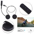 Motorcycle Helmet Music Headset Speakers Mic Bluetooth Handsfree Call Control