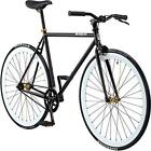 Pure Fix Original Fixed Gear Single Speed Bicycle, Mike Black/White, 54cm/Mediu